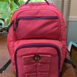 6 pack fitness book bag
